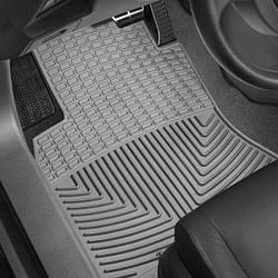 Коврики салона Weathertech  Audi Q7 2016- черные, передние