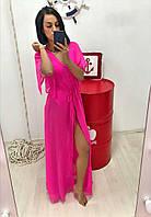 Женская шифоновая пляжная накидка, фото 1