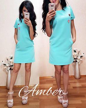 Нежное летнее платье стильное и красивое, размер 42-44, 44-46, фото 2