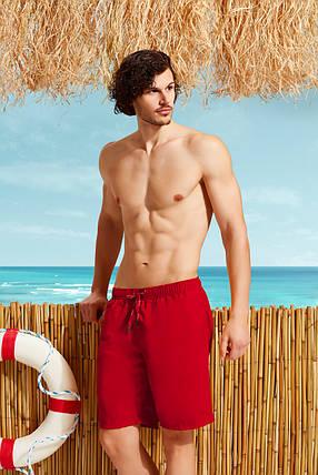 Красные мужские удлиненные  шорты  Doreanse 3804-2, фото 2