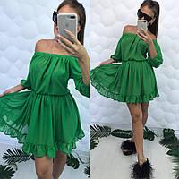 Шифоновое пляжное платье-туника, фото 1