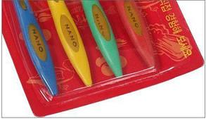 Бамбуковая зубная щетка Nano ( набор зубных щеток ), фото 3
