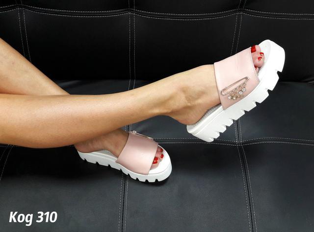 Женская кожаная обувь ЛЕТО