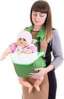 Рюкзак-кенгуру переноска для детей от 3-х месяцев Зеленый