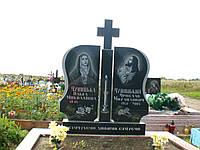 2.1. Памятник гранитный двойной