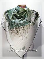 Лёгкие шифоновые платки Радуга, зелёный