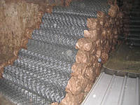 Плетеная сетка для забора