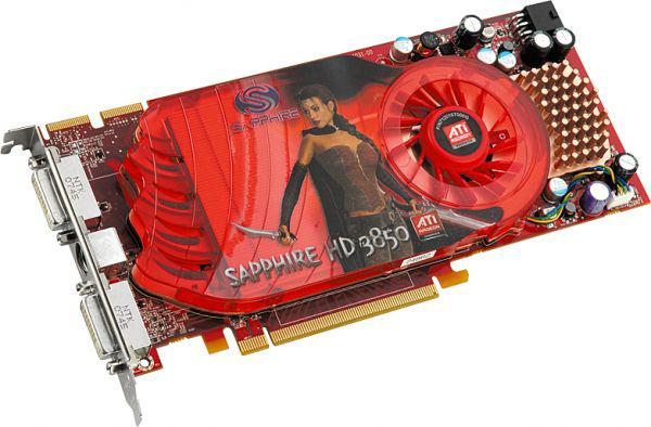Видеокарта Sapphire HD3850 256Mб/256бит GDDR3 PCI-E DUAL
