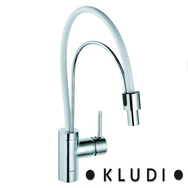 Смеситель для кухни Kludi Esprit White/Chrome 568599140