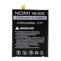Аккумулятор NB-5050 для Nomi i5050 EVO Z 2500мAh (Original)