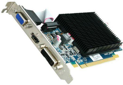 Видеокарта Sapphire RADEON HD 5550 1024 Мб 128 бит DDR3