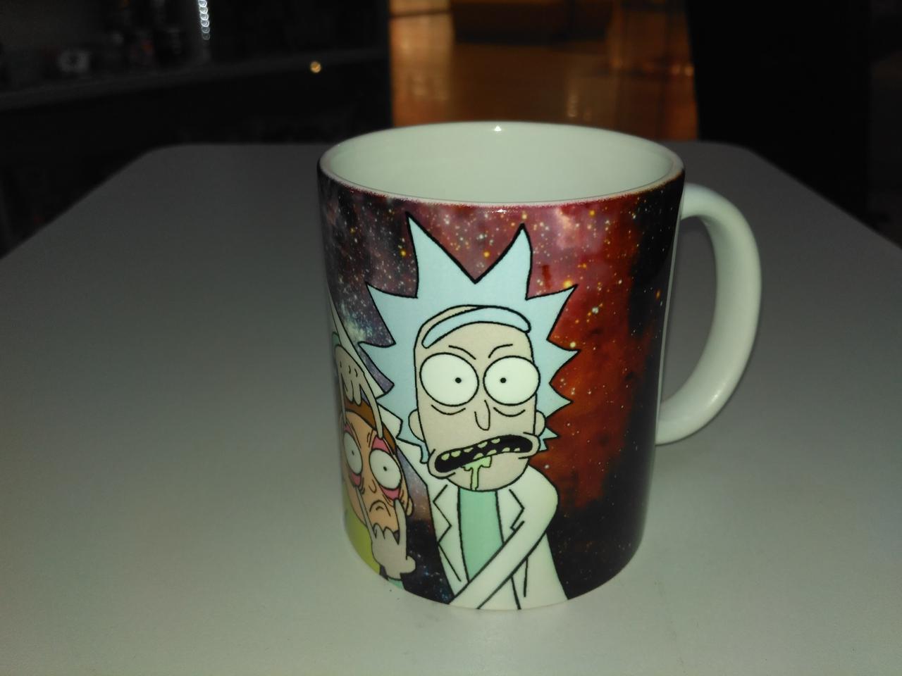 Чашка Рик и Морти