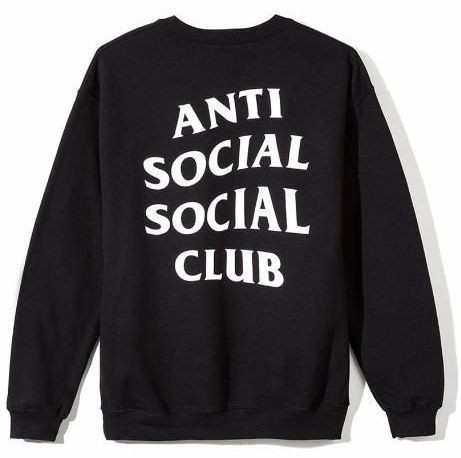 Свитшот A.S.S.C. Anti Social social club женский |