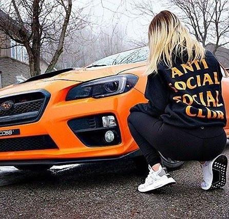 Толстовка Anti Social social club Paranoid Женская   Качественная реплика