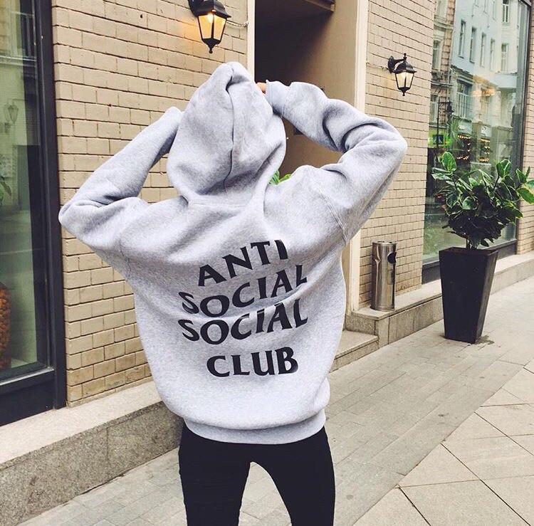 Худи A.S.S.C. с принтом Anti Social Social Club Games женская |