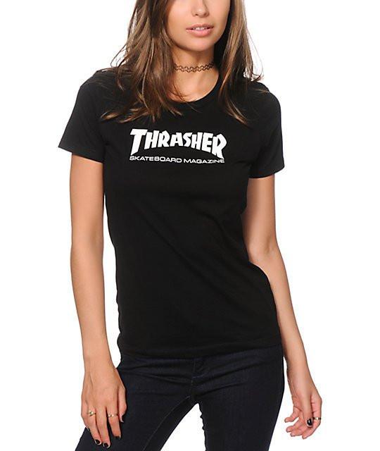 Футболка Thrasher Skate Mag Logo женская |