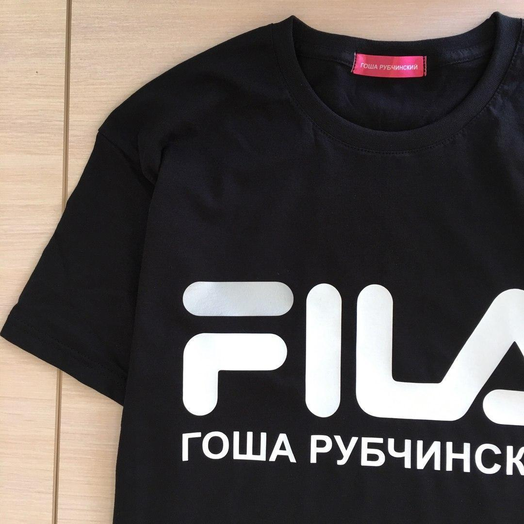 Футболка Гоша Рубчинский FILA мужская. Все размеры   Качественная реплика