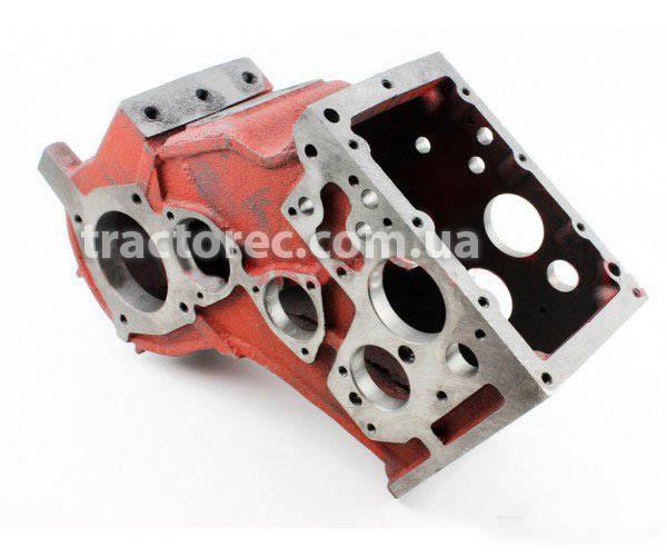 Корпус коробки передач (КПП, трансмиссия, блок) к мотоблоку мототрактору под 5 болтов крепление, ось 39-49мм