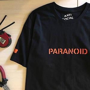 Футболка женская Undefeated Paranoid Бирка ASSC топ | Качественная реплика