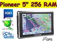 Авто GPS навигатор Pioneer 5 дюймов Ram 256mb ROM 8gb Автомобильный навигатор