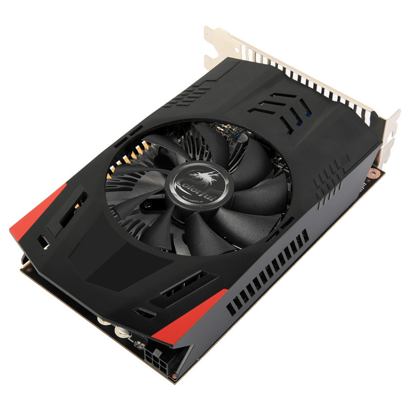 Видеокарта GeForce GT740, COLORFUL, 2Gb DDR5, 128-bit, VGA/DVI/HDMI, 1058/5000MHz