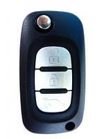 Корпус выкидного ключа к авто Renault