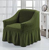 Чехол для кресла  зеленый