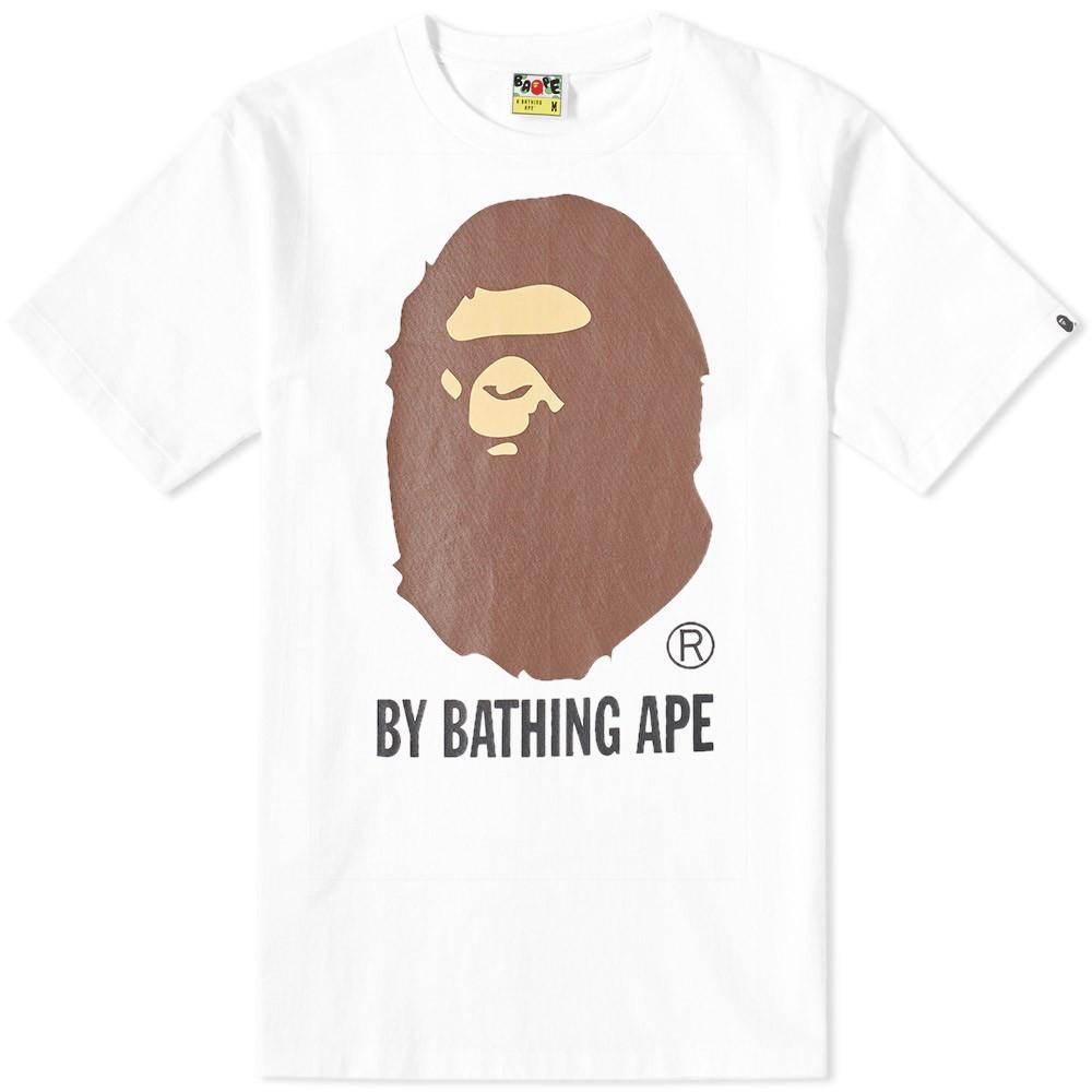 Футболка с принтом BAPE A Bathing Ape |