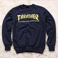 "Свитшот мужской с принтом ""THRASHER"" Skateboard Magazine  "