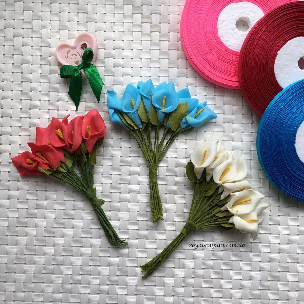 """Пучок квітів """"Калу"""" для віночків."""