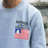 Свитшот с принтом RipNDip for Presideht |