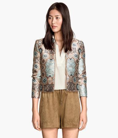 Новые шорты под замшу H&M