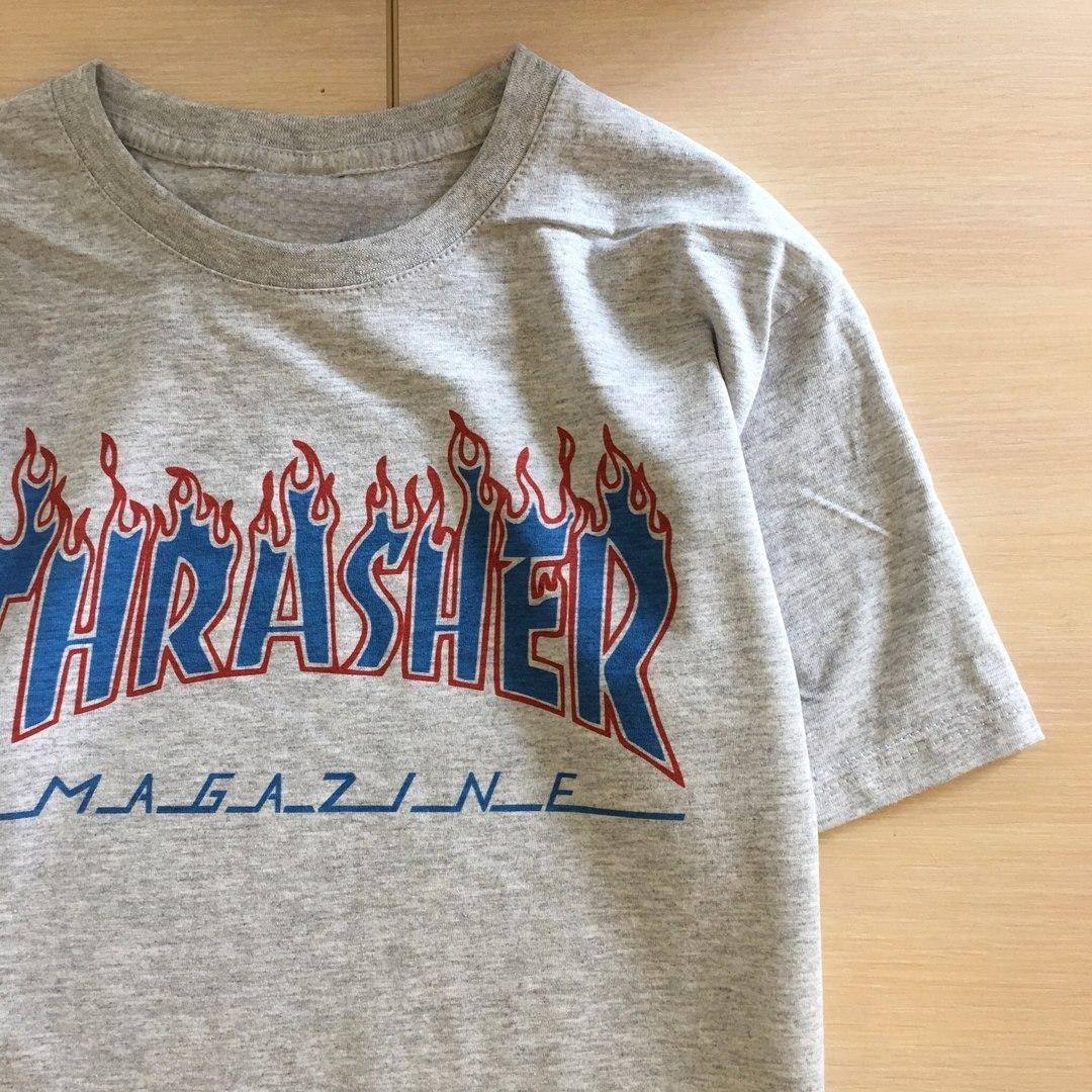 Футболка Thrasher Flame Бирки| Качественная реплика