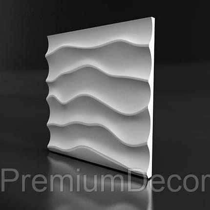 Гипсовые 3Д/3D панели ДЮНА, фото 2