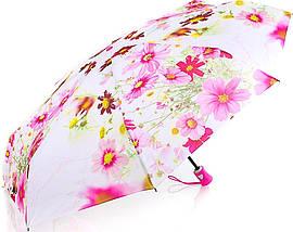 Женский нежный компактный зонт, полуавтомат ZEST (ЗЕСТ) Z24665-10 Антиветер!, фото 2
