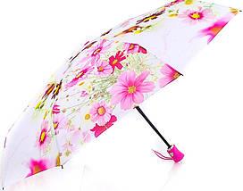 Женский нежный компактный зонт, полуавтомат ZEST (ЗЕСТ) Z24665-10 Антиветер!, фото 3