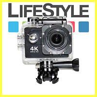 Спортивная Action Camera B5 WiFi 4K 16 Мп Экшн-Камера Водонепроницаемая. Скидка −30%