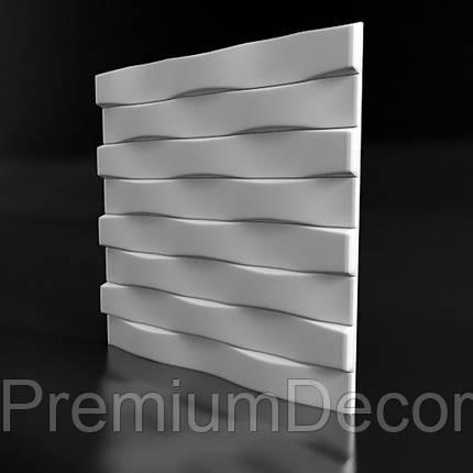 Гипсовые 3Д/3D панели БРИКС, фото 2
