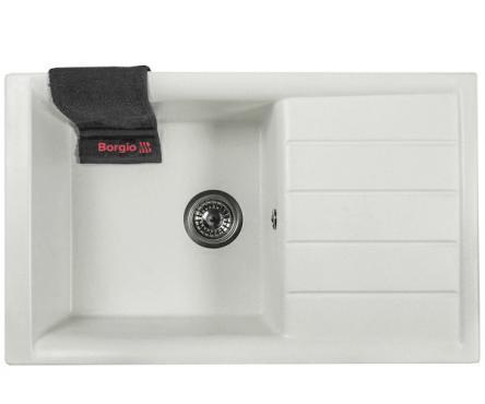 Мойка гранитная PRM-790x500 (белый)