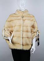 Норковый полушубок летучая мышь Снежана 215