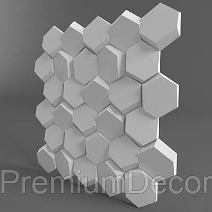 Гипсовые 3Д/3D панели СОТЫ, фото 2