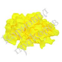 Лепестки роз (уп. 120шт) желтые