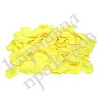 Лепестки роз (уп. 300шт) желтые