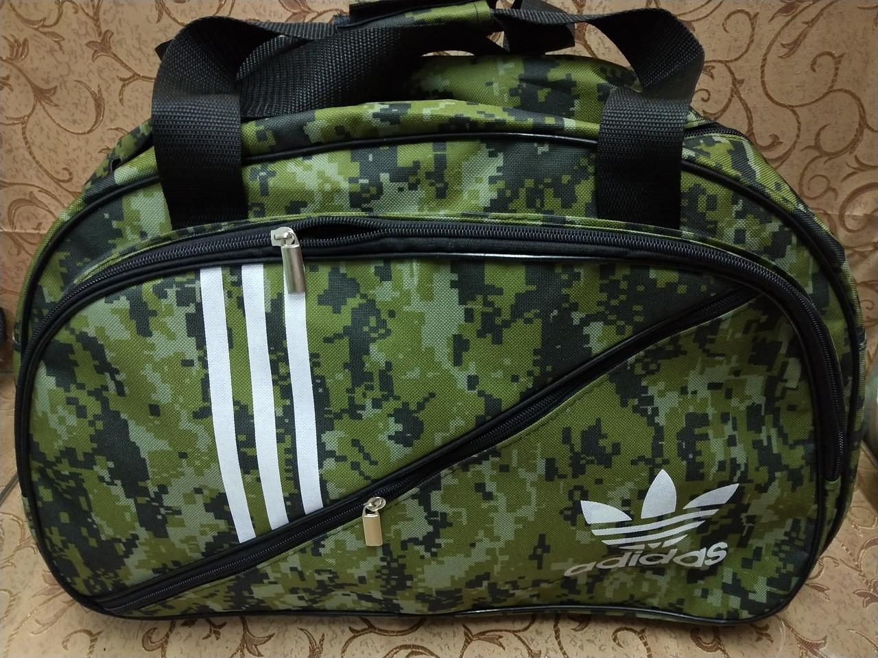 33*49-Спортивная дорожная Камуфляж сумка adidas Дорожная Спортивная сумка только оптом