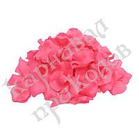 Лепестки роз (уп. 120шт) малиновые