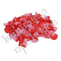 Лепестки роз (уп. 120шт) красно-розовые
