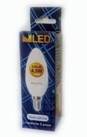 Светодиодная лампочка свеча