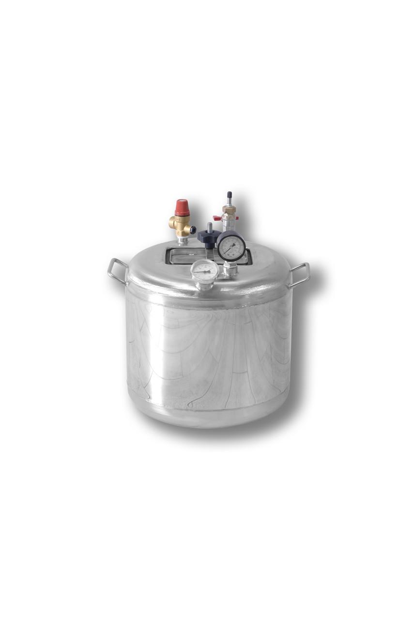 Автоклав бытовой из нержавеющей стали Гуд16  (16 банок 0,5)