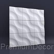 Гипсовые 3Д/3D панели АЛИВИЯ, фото 3