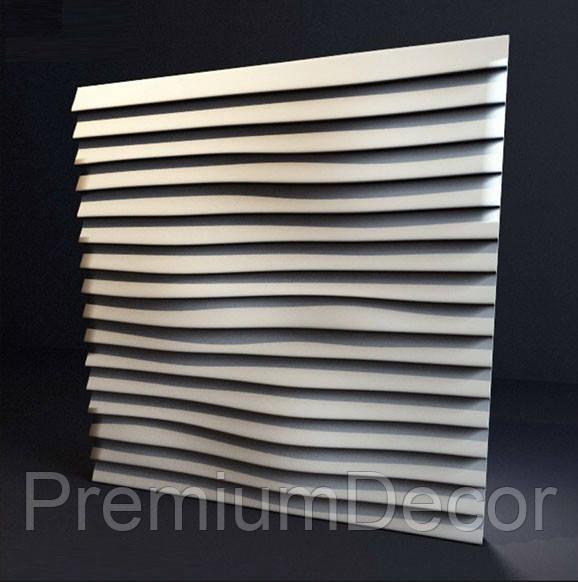 Гипсовые 3Д/3D панели ЛИНИИ